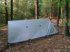 """Outdoor Equipment Supplier Straight Cut 10' x 10' Silnylon Tarp 