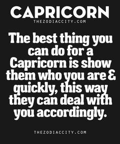 Best Thing You Can Do For Capricorn | TheZodiacCity  See more zodiac facts here  |  ZodiacCity Shop