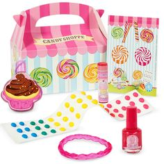 Candy Shoppe Party Favor Box, 87957