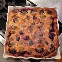 Plum Clafoutis @ allrecipes.co.uk