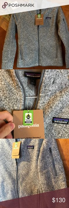 Women's Better Sweater Jacket Patagonia's Women's Better Sweater Jacket bought it for my girlfriend and realized it was the wrong one. Need gone ASAP! It's a size small and has never been worn Patagonia Sweaters Cowl & Turtlenecks
