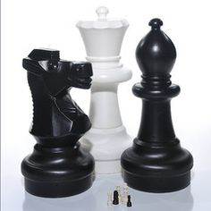 Giant lifesize Chess Set