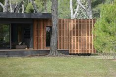 Multipod Studio - Project - Pop-Up House: the affordable passive house - Small Buildings, Beautiful Buildings, Pop Up Haus, Popup, Casa Pop, Studio Floor Plans, Studios, Up House, Farm House