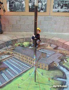Cool Pics: Virtual 3D Street Art