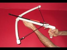 How to make a Crossbow - PVC Crossbow - All