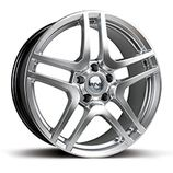 "RIVA HMC in Hyper Silver Specification: Size: 18"" x Width:8.0J or 9.0J Fitment: 5 stud only  PRICE, SET OF 4 £432 Womens Golf Shoes, Alloy Wheel, Wheels, Free Delivery, Silver, Kit, Autos, Golf Shoes, Money"