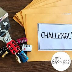 Math Escapes : Escape Room Style Activities in the Middle School Math Classroom