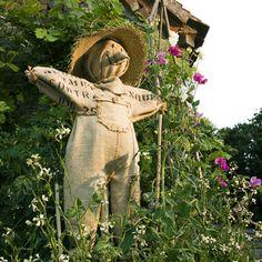 #Make a #scarecrow #from #Hessian #sacks