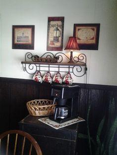 New coffee station