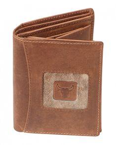 Waldis-Fellshop - Geldbörse aus Wildleder klein, hoch Fellhof Suede Fabric