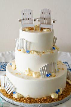 Fabulous Seaside Wedding Cake Event Planner Www
