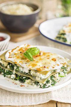 Recetas con espinacas irresistibles y fáciles de hacer Salty Foods, Sin Gluten, Vegan Recipes, Brunch, Food And Drink, Eggs, Yummy Food, Pasta, Cooking