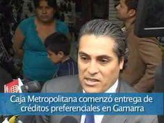 Caja Metropolitana comenzó entrega de créditos preferenciales en Gamarra
