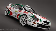A few renders of this celica WRC, hope you like it!