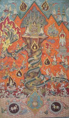 Art Buddha, Art Thai, Southeast Asian Arts, Statues, Art Antique, Learn Art, Mural Painting, Light Art, Ancient Art