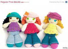 SALE Crochet Pattern  Amigurumi Pattern  How To Crochet by Amichy