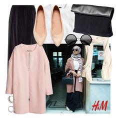H&M | Hijab by lunicornn on Polyvore featuring polyvore fashion style H&M women's clothing women's fashion women female woman misses juniors