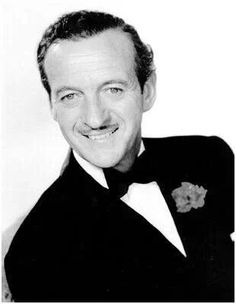 David Niven. So witty, suave and sexy.