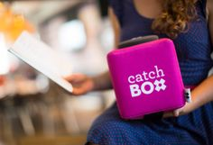 Catchbox Is A Throwable Microphone To Get The Audience Talking | #TechCrunch