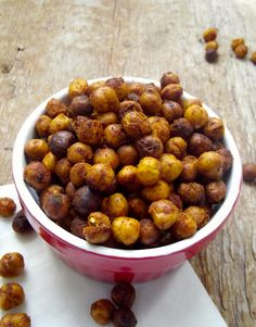 Time roc roasted chickpeas