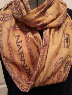 The Chronicles of Narnia Infinity KNIT scarf by NerdAlertCreations