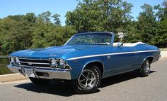Classic Motors For Sale has classic cars for sale plus a selection of vintage cars from dealers and auctions in UK, US, and Europe. 1969 Chevy Chevelle, Convertible, Car Man Cave, Gm Car, Chevy Muscle Cars, Best Classic Cars, Classic Motors, Chevrolet Malibu, Hot Cars