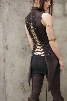 Heir... top with lacing and tails. #goth #gothic #fashion #women #woman #clothing