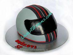 Motorcycle Helmet cake tutorial how to make