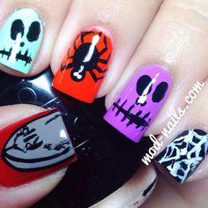 halloween by modnails  #nail #nails #nailart
