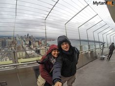 Things to do in Seattle - go up the Space Needle