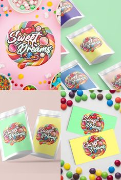 To celebrate the coming Easter weekend of chocolate eating, here is Designwest Kiltimagh's latest logo design for Sweet Dreams, based in Limerick. This is a fantastic colourful logo, and the client was delighted with it! #digitalart #business #designinspiration #logomark #m #photography #webdesigner #drawing #adobe #designlogo #brandingdesign #icon #designlogo #banner #fashion #identity #logobrand #follow #socialmedia #instagood #logodesinger #sweets #logoconcept Logo Branding, Branding Design, Logo Design, Logos, Dream Logo, Fashion Identity, Easter Weekend, Logo Concept, Logo Color