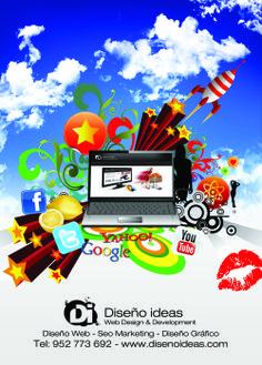 Diseño Ideas web design and seo positioning, optimisation, online marketing seo in Málaga