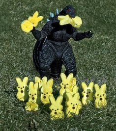Even wishing Godzilla a Happy Easter!