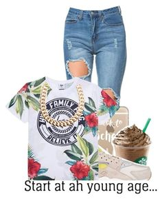 """""""Untitled #213"""" by g-0-l-d-3-n-princess ❤ liked on Polyvore featuring mode, Casetify, NIKE en Gogo Philip"""