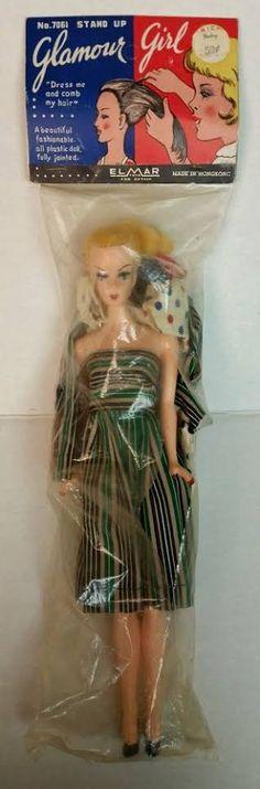 "MIDGE Barbie Vintage Repro Plastic Black Base 3 Piece Doll Stand for 11.5/"" Dolls"