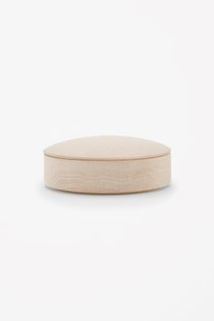 COS image 1 of HAY medium maple lens box in Biscuit Flora, Projector Lens, Futuristic Furniture, Cold Meals, Scandinavian Style, Wood Turning, Home Accessories, Home Goods, Pure Products