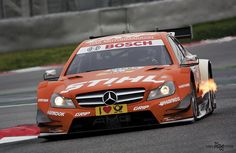 Test DTM Montmeló 2013 - Robert Wickens - Mercedes AMG C-Coupe - Mercedes AMG DTM-Team