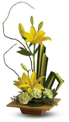 Teleflora's Bamboo Artistry Flowers, Teleflora's Bamboo Artistry Flower Bouquet - Teleflora.com