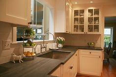remodel galley kitchen before after | Before and After: Vancouver Heights Kitchen Remodel | Fazzolari Custom ...