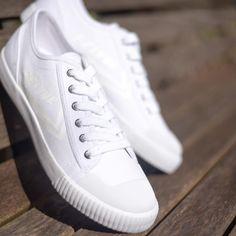 Winter whites ❄️ #Feiyue Feiyue-shoes.com