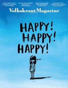 A simple but strong image on the cover of Volkskrant Magazine (Netherlands). Sometimes cartoons can be more effective than photos. This is one example. From a fellow fan of great covers: Coverjunkie.com.