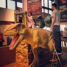 """@Alice Davidson's photo: """"They need to make this in grown up size! #dinosaursaddle #jurassicpark #hmns"""""""