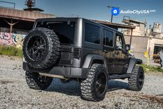 2017 Jeep Wrangler JK   20″ Red Dirt Road Wheels RD01 Black Machined Rims   35×12.5×20 Nitto Mud Grapplers Tires   2 1/2″ Teraflex Suspension   AudioCityUSA  Posted on March 10, 2017 For this Lifted 2017 Jeep Wrangler JK customer wanted an Off-Road wheel set up and went with 20″ Red Dirt Road Wheels RD01 Black Machined Rims. Wheel and tire set up is 20×12 wrapped with 35×12.5×20 Nitto Mud Grapplers Tires with 2 1/2″ Teraflex Suspension Lift Kit.