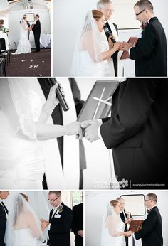 Exchanging vows and rings on the Seneca Legacy in Watkins Glen New York | All Images Copyright © 2014 Timeless Treasures Photography | www.savingyourmemories.com