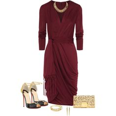 """""""Holiday Party Dress"""" by marion-fashionista-diva-miller on Polyvore"""
