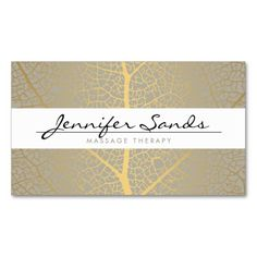 ELEGANT NAME with GOLD TREE PATTERN Business Card Templates. Make your own business card with this great design. All you need is to add your info to this template. Click the image to try it out!
