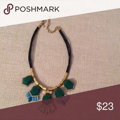 Green Multi Stone Necklace Stylish green multi stone necklace. Offers welcomed🙂 **Extra discount given on all bundles***🎈🎁🎉🎊😉 J. Crew Jewelry Necklaces