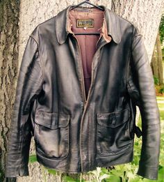 Heavily Worn 'Raiders' Jacket from Wested Leather
