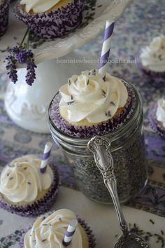 Lavender Lemonade Cupcakes!