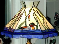 Avenue Stained Glass - Duck Lamp